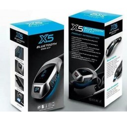 Modulator FM Hands Free Bluetooth X5